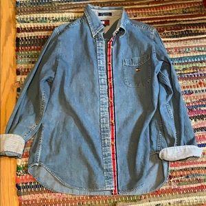 Vintage Tommy Hilfiger Jean button up